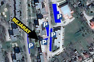 Info-Sziget - Dózsa Gy. u. 25. parkolás